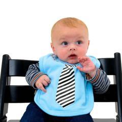 Business-Lätzchen mit Krawatte