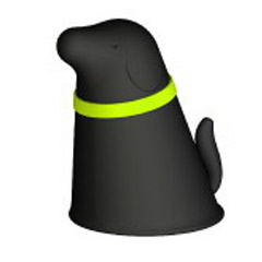 Pupp - Pet Feeder, schwarz