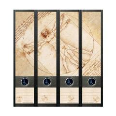 Ordner Rückenschilder Da Vinci