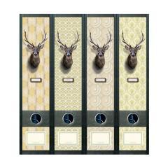 Ordner Rückenschilder Oh Deer