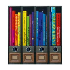 Ordner Rückenschilder Rainbow Books
