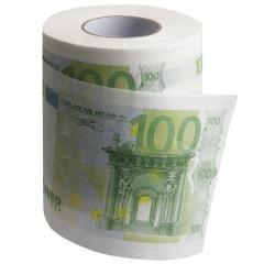 Toilettenpapier 100 Euro