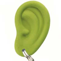 Ear Ring - grün