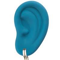 Ear Ring - blau