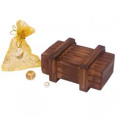 Magische Schatzkiste Schatztruhe aus Holz