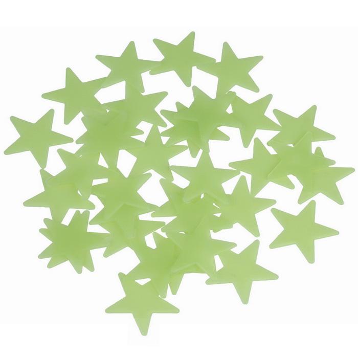 geschenkwichtel leuchtende sterne 102 fluoreszierende leuchtsterne