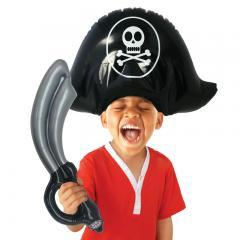 Aufblasbares Piratenkostüm für Kinder