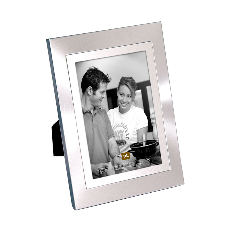 geschenkwichtel duo tone steel bilderrahmen 10x15 edelstahl. Black Bedroom Furniture Sets. Home Design Ideas