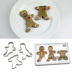 ABC Cookies angebissene Plätzchenformen