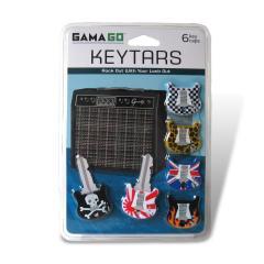 Schlüsselkappen Gitarre
