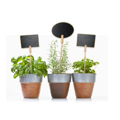 geschenkwichtel pflanzenstecker tafel schildchen zum beschriften von pflanzen. Black Bedroom Furniture Sets. Home Design Ideas