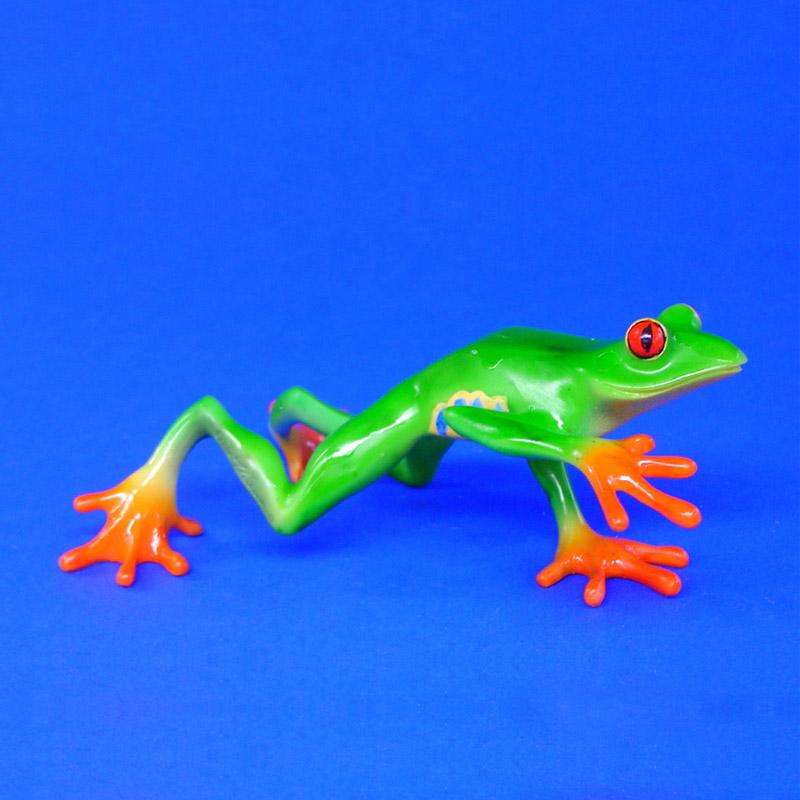 Geschenkwichtel rotaugenlaubfrosch agalychnis callidryas for Frosch figur garten