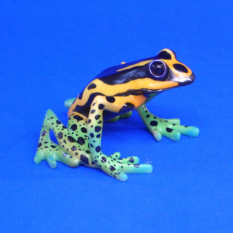 geschenkwichtel adelphobates quinquevittatus freaky forest frogs figur. Black Bedroom Furniture Sets. Home Design Ideas