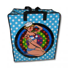 XL Shoppingbag - Einkaufstasche Retro Pin Up