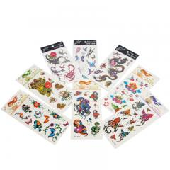Einmal-Tattoo Sticker-Set