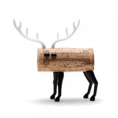 geschenkwichtel aus korken tiere basteln corkers. Black Bedroom Furniture Sets. Home Design Ideas