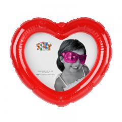 Aufblasbarer Herz-Bilderrahmen