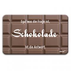 Brettchen - Schokolade