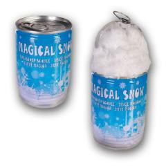 Magischer Deko Schnee in der Dose