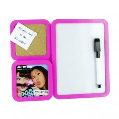 Bilderrahmen & Memoboard all-in-one