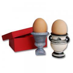 Amphoren Porzellan Eierbecher