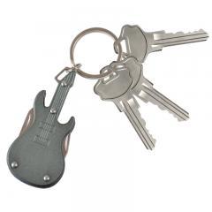 Gitarre Schlüsselanhänger mit Taschenmesser