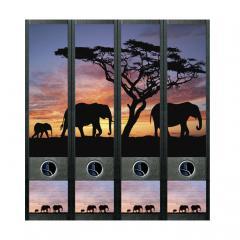 Ordner Rückenschilder Afrika