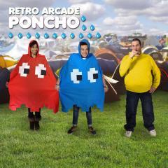 Retro Arcade Regen-Poncho