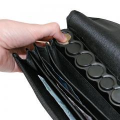 Geldbörse mit Münzspender