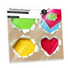 Geschenkaufkleber Greeting Stickers