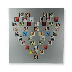 Pixel Herz Bilderrahmen
