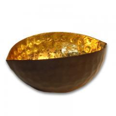 Teelichthalter schwarz gold