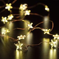 Micro LED Lichterkette 20 Sterne