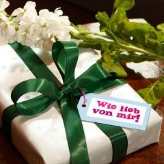 Witzige Geschenkanhänger