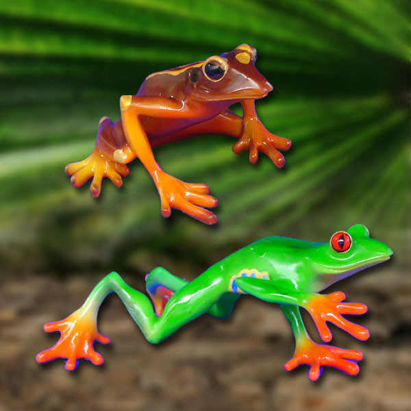 Frosch Figuren