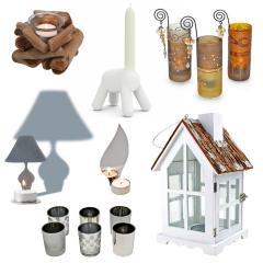 Kerzen, Kerzenständer & Teelichthalter